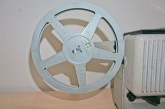 Eumig P8 Automatic 8mm Projector - Eumig take up reel