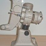 Bell & Howell 606H projector : Side view of projector