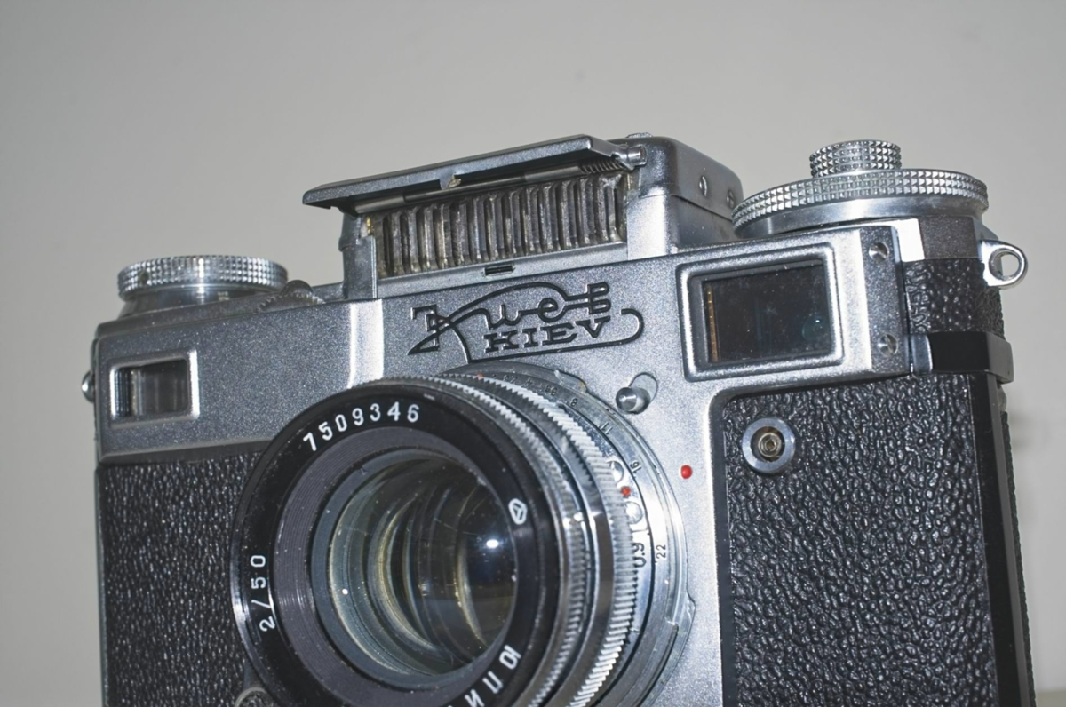 Kiev 4 rangefinder with jupiter 8