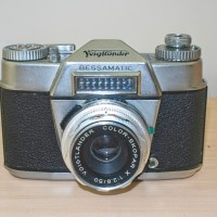 Voigtlander Bessamatic  SLR camera from 1962