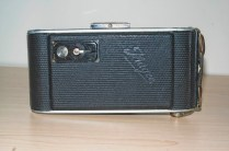Ihagee Ultrix Folding Camera : Rear view showing film counter