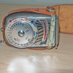 Kalimar Exposure meter - With leather case