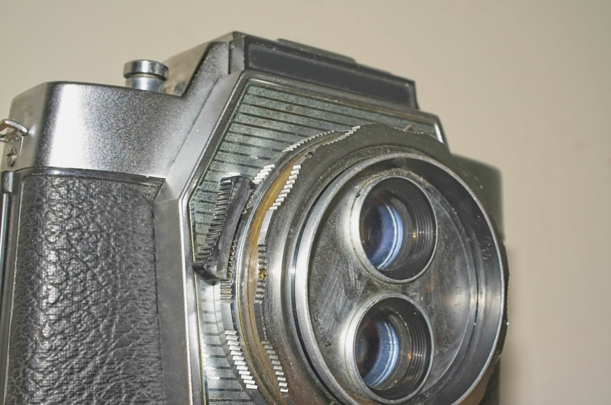 Agfa Flexilette 35mm TLR camera