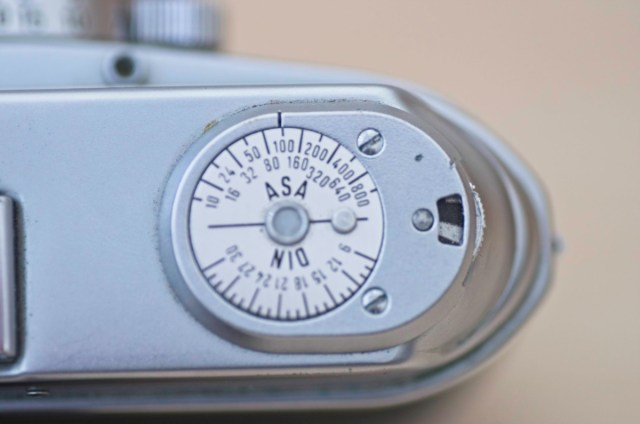 The beautiful Arette 1C rangefinder from the 1950s 6