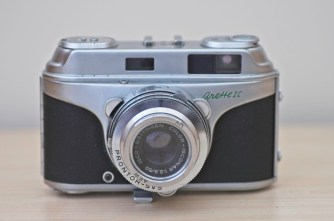 The beautiful Arette 1C rangefinder from the 1950s 12