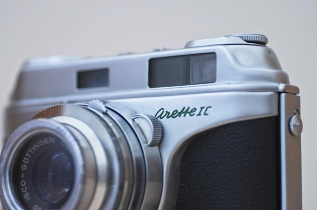 The beautiful Arette 1C rangefinder from the 1950s 11