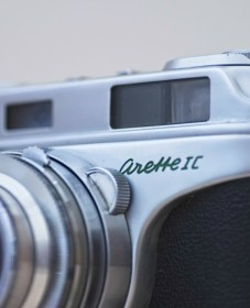 An image of the Arette 1c rangefinder camera