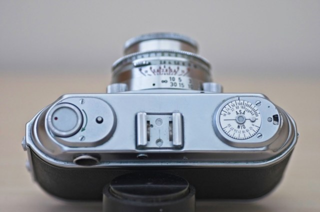 The beautiful Arette 1C rangefinder from the 1950s 4