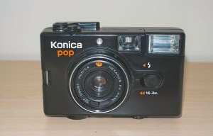 Konica Pop snapshot camera - Front of Konica Pop
