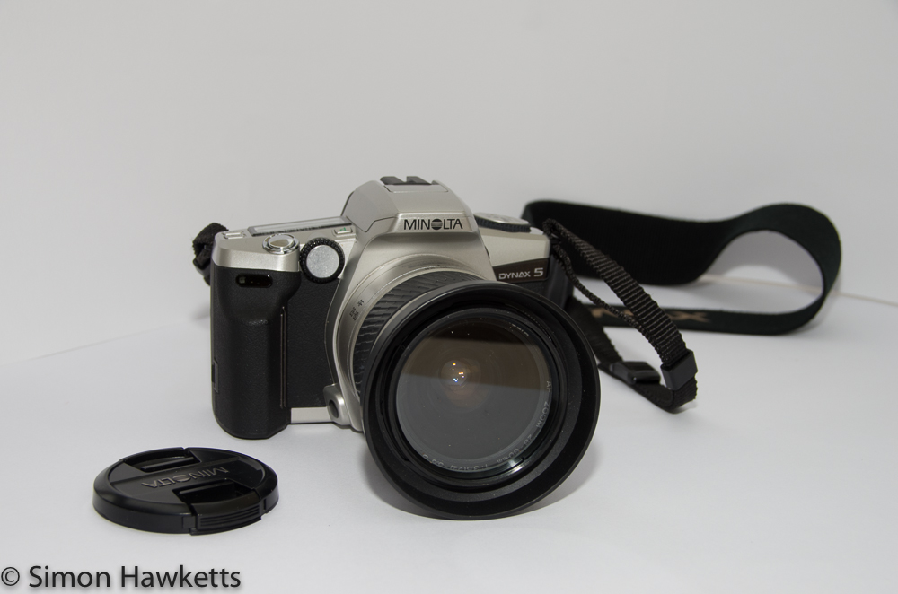 Minolta Dynax 5 with 28-80 lens fitted