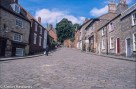 Precisa ct-100 slide film pictures - Steep hill in Lincoln