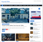 Found film home page