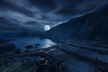Dear Esther beach