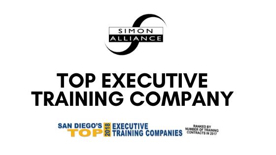 Simon Leadership Alliance Ranked in San Diego Business Journal's 2018 Top Executive Training Companies