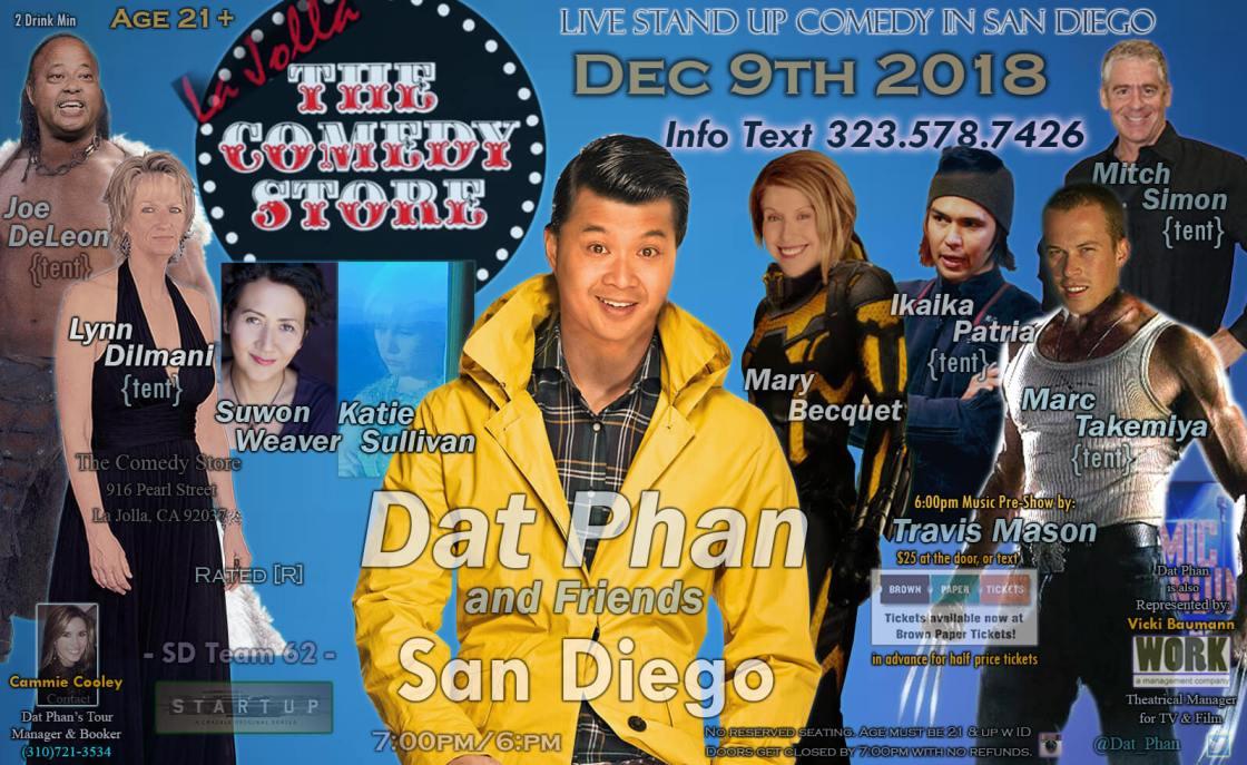 Mitch Simon performs Standup Comedy at Comedy Store La Jolla, Dec. 9, 2018