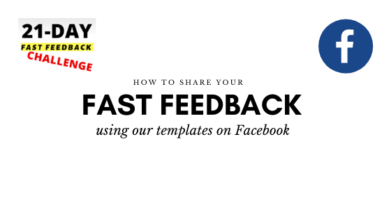 How to Share Your 21-Day Feedback on Facebook (2)