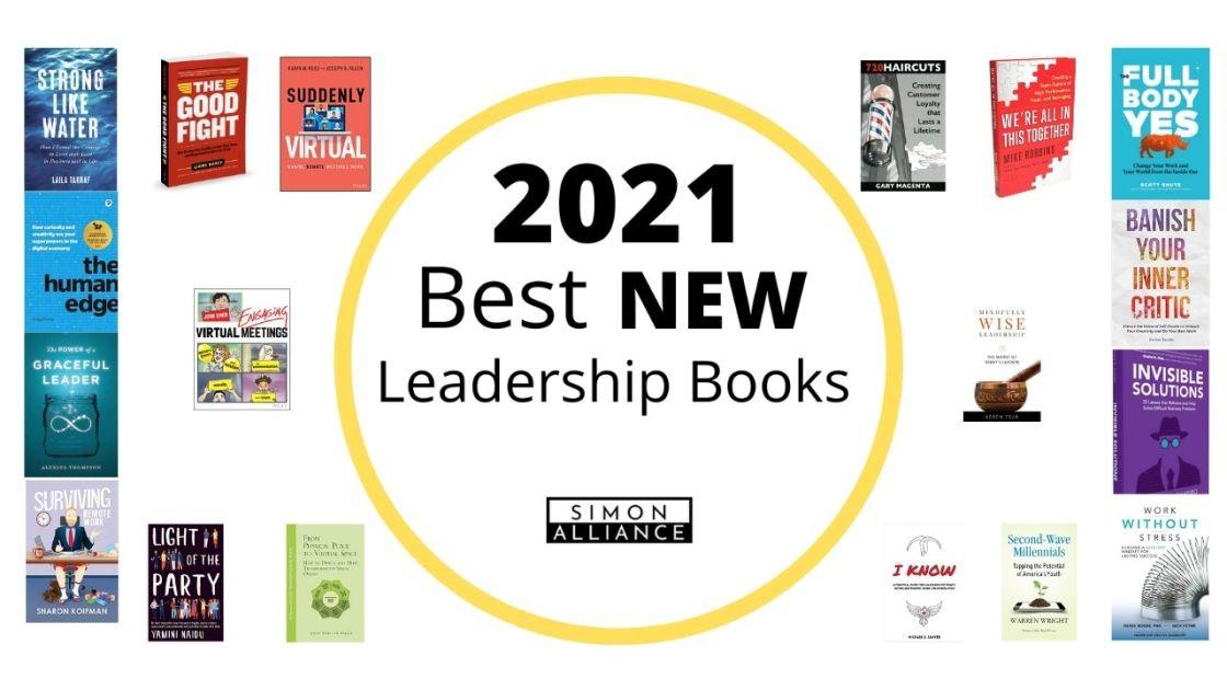 Best NEW Leadership books of 2021