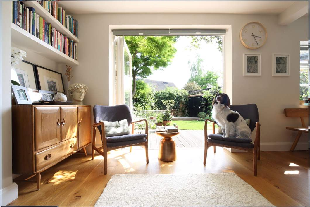 Sustainable architecture and building design, architect Oxfordshire, architect Berkshire, Architect Buckinghamshire, Architect Hampshire, local architect, contemporary architecture, house extensions, home extensions, sustainable building materials, sustainable design, architecture firm, architectural design Berkshire, Listed Building Architectural design Buckingham, skylight, velux windows, bathroom designs, natural light, bi-fold doors, living room extension, open-plan living room ideas, living room interior design,