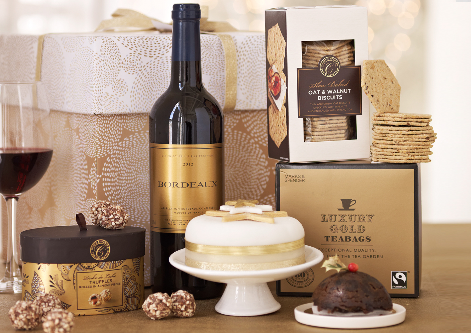 M&S | Christmas Hampers
