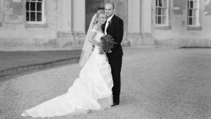 Lisa and Matts' wedding at Woburn Abbey