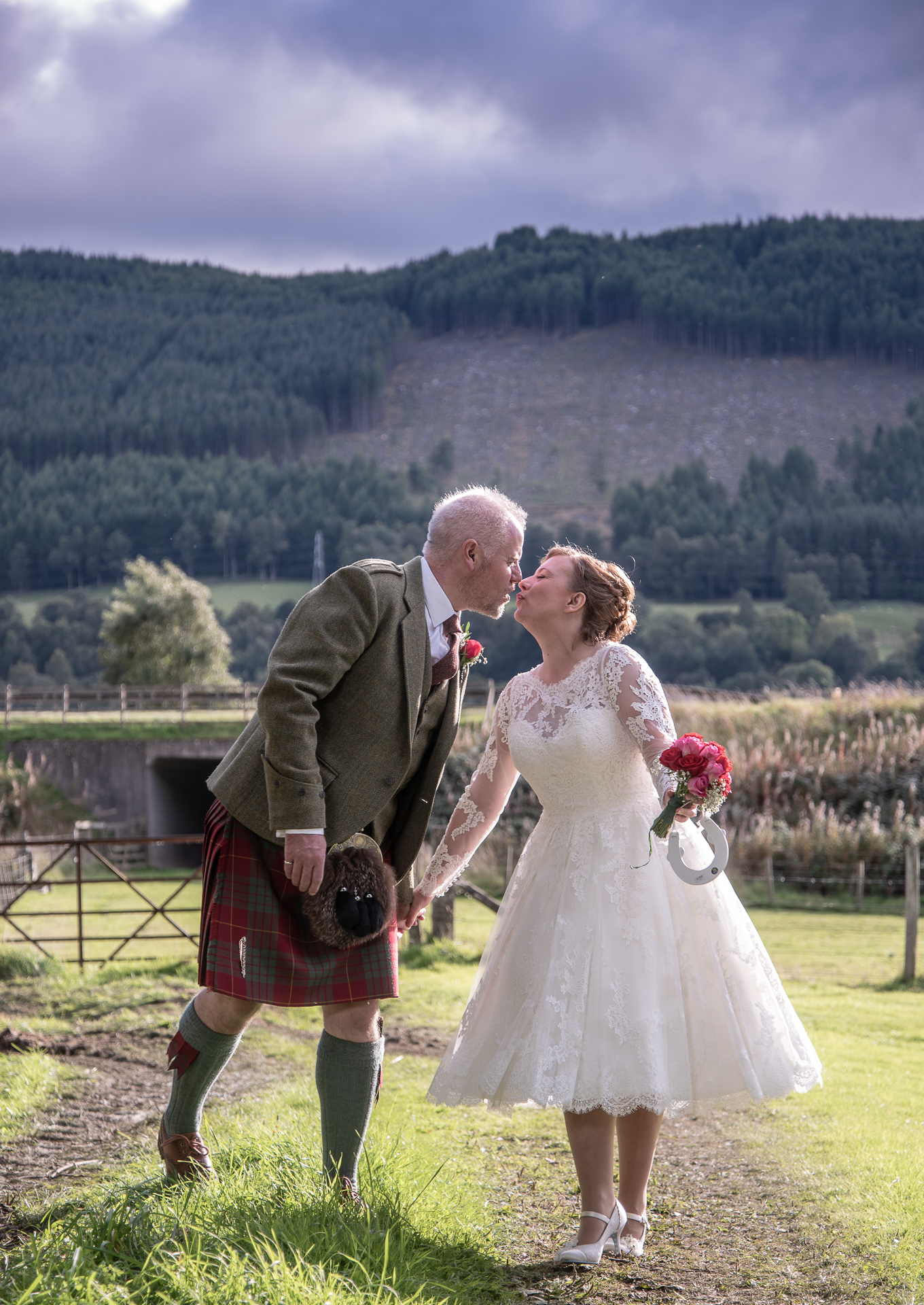 Wedding at east haugh, Pitlochry