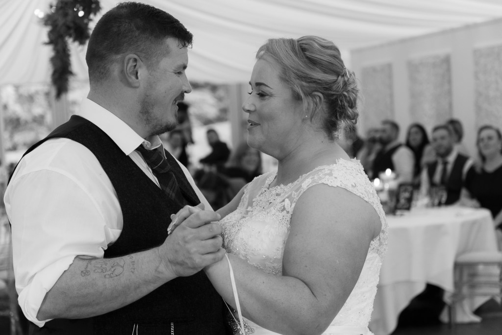 Greig and Pauline at Dunkeld House Hotel 4