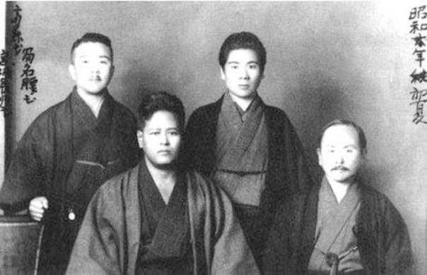 Konishi, Miyagi, Saito and Funakoshi