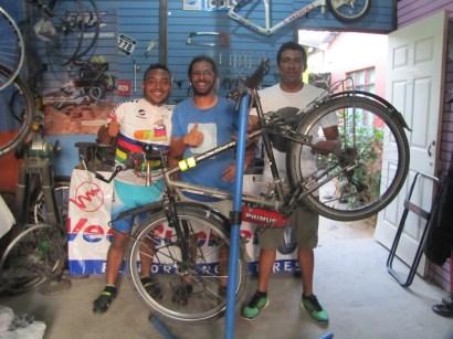Lou, Eddy, Me And The Bike Mechanic