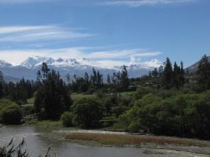 White Andean Peaks