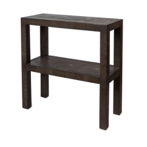 Stanford side table in shagreen