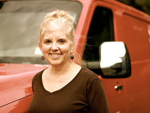 Laurie Schmolz, Office Manager and Bartender