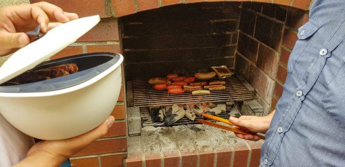 Cooking away