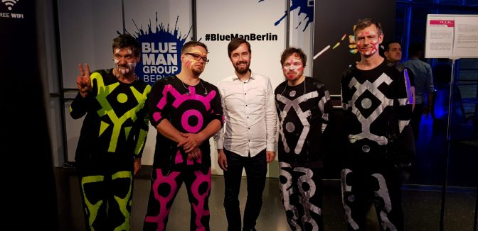 Blueman band!