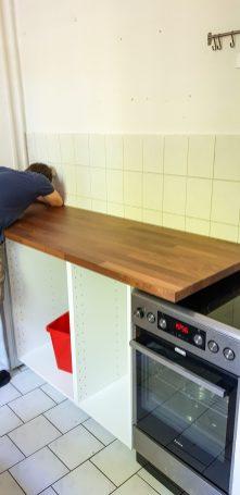Flat pack kitchen becoming less flat