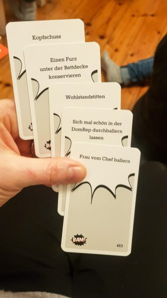 Offensive German Cards against humanity