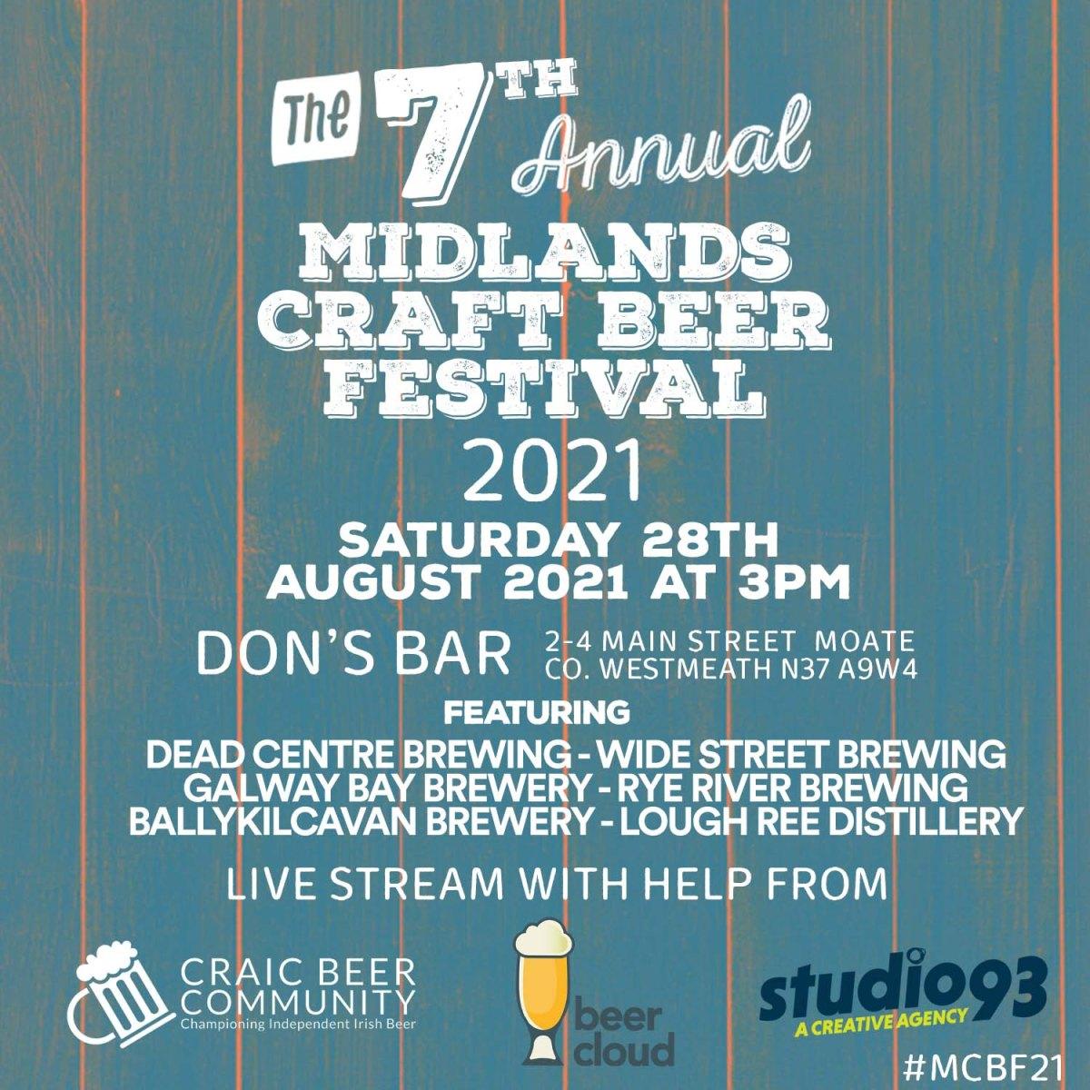Midlands Craft Beer Festival 2021 thumbnail