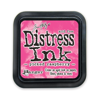 Tim Holtz Distress Ink Pad PICKED RASPBERRY Ranger Summer TIM34995