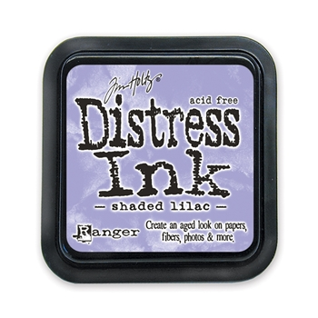 Tim Holtz Distress Ink Pad SHADED LILAC Ranger Spring TIM34957