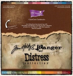 Tim Holtz Core'dinations DISTRESS ColorCore 12 x 12 Cardstock GX190000