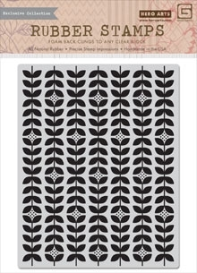 Hero Arts Cling Stamp GRATITUDE BACKGROUND cg644