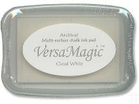 Tsukineko Versamagic CLOUD WHITE INK PAD Archival VG-92