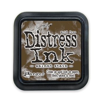 Tim Holtz Distress Ink Pad WALNUT STAIN Ranger TIM19534