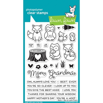 Lawn Fawn MOM AND ME Clear Stamps LF1134