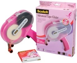 3M Scotch PINK ATG ADVANCED TAPE GLIDER 1/4 Inch Adhesive Glue Gun