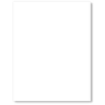 Neenah Classic Crest 80 LB SMOOTH SOLAR WHITE Paper Pack 25 Sheets