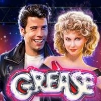 This is the logo of the 2018 Playtech Grease slot. The image also acts as a link. Click on the picture to open a new tab, where you can play the game.