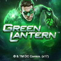 This is a 200x200 pixel official image of the DC Comics and Playtech Green Lantern video slot. The picture is also a link, click on it to be taken to a webpage, where you can play with the free-to-play game online.