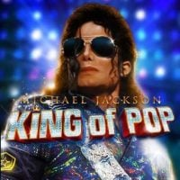 This is an image of the 2016 slot by Bally Technologies and Scientific Gaming titled Michael Jackson - The King of Pop. The picture features Michael Jackson on a live performance in costume. Click on the image to open a new window, where you can play the online slot.