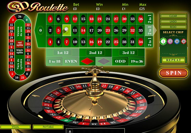 This is a screenshot of a 3D mobile roulette app. Roulette wheel bias does not work in digital roulette apps, games. On this page you can a detailed walkthrough, step-by-step guide on how to calculate wheel bias and how to make money exploiting roulettes in casinos.