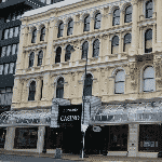 This is a picture of the building, sign and front entrance of Dunedin Casino (also know as Grand Casino). To the right of the picture you can read more about this casino.